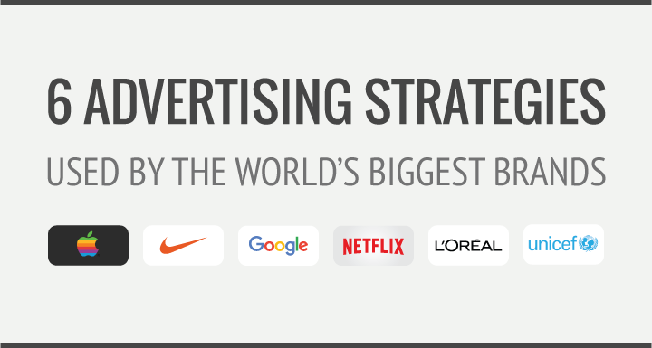 6 Advertising Strategies Used By The World's Biggest Brands